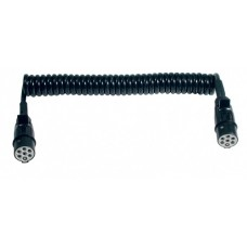 Spirale poliuretano Ø20mm L.L.3,5m (6x1+1x1,5mm2) spine 7 poli 24V S plastica manic. gomma-00550970