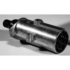 Spina 7 poli 24V N alluminio con contatti a vite-00590900
