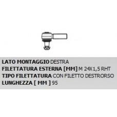TESTA STERZO IVECO 75-9A-Evobus dx Daf 65-75-85 CF-0186631...