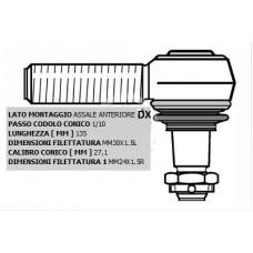 Testa Sterzo DX Scania Serie 2-3-4-0186758...