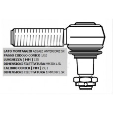 Testa Sterzo Sx Scania Serie 2-3-4-0196758...