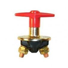 Interruttore staccabatteria ad azionamento manuale con maniglia fissa e corpo in metallo-08010100