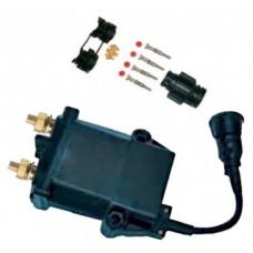 Teleruttore generale di corrente a ritenuta meccanica, stacco del positivo con connettore volante din a 4 vie-08094270