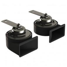 TM80/N Trombe elettromagnetiche bitonali a due morsetti Ø 80 mm. Complete di relè e staffe di fissaggio. 24 V-10008013
