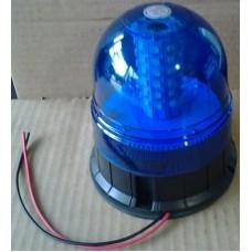 Lampeggiante led blu 12-24 V fissaggio a viti-10069650B...