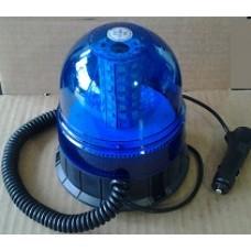 Lampeggiante led blu 12-24 V base magnetica-10069651B...