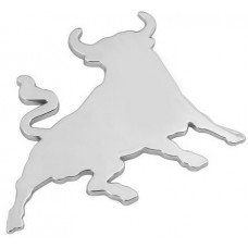 Emblema 3D cromato - Bull 80x60-1007207...