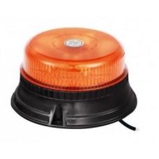 Lampeggiante led 12-24 V Base piana fissaggio viti d. 140 mm altezza 70 mm.-102184BPB35308...