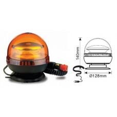 Lampeggiante led 12/24 V base magnetica con presa accendino-102188LV35308...