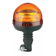 Lampeggiante Led 12/24 V ad innesto con base flessibile-102189BI35308...