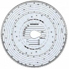Confezione 100 pz. dischi per Tachigrafo 125 Km/h-1024923