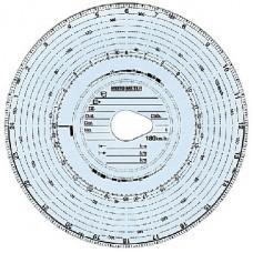 Confezione 100 pz. dischi per Tachigrafo 180 Km/h-1024923/180