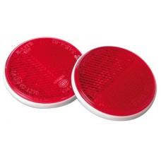 Catadriotto Rosso circolare fissaggio a perno D. 80-1025015