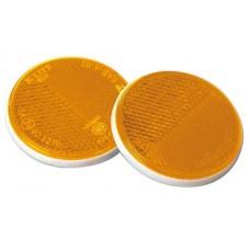 Catadriotto Arancio circolare fissaggio a perno D. 80-1025016