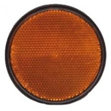 Catadriotto Arancio circolare a base adesiva D. 80-1025026