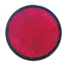 Catadriotto Rosso circolare a base adesiva D. 80  prezzo listino 1,10-1025027