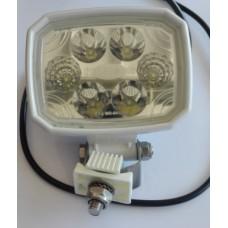 Faro bianco a 6 led 120x90 IP69K con cavo bivoltaico-102960L0BS0C...