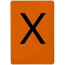 Lettera Adesiva X-106004/X