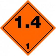 Contrassegno per veicoli a norme A.D.R.-106109/A/30