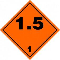 Contrassegno per veicoli a norme A.D.R.-106110/A/30