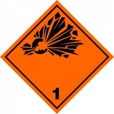 Contrassegno per veicoli a norme A.D.R.-106126/A/30