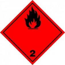 Contrassegno per veicoli a norme A.D.R.-106129/A/30