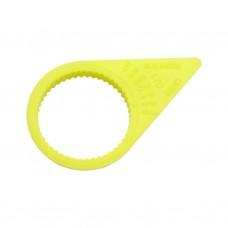 Anello giallo per bullone con indicatore D. 30-1098056