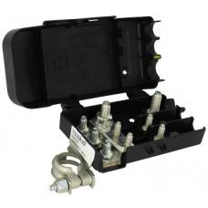 Morsetto batteria con scatola portafusibile-10M402...