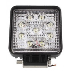 FARO LED WORK QUADRATO 27W-10XXFLQ