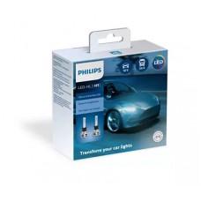 Kit Lampade Led H1 Philips Ultinon essential 12/24 V 6500 K-11258UE2X2...