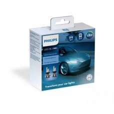 Kit Lampade Led H4 Philips Ultinon essential 12/24 V 6500 K-11342UE2X2...