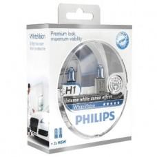 Kit lampade Philips H1 12V + 2 Pz T10 12V 5W White Vision-12258WHVSM