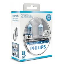 Kit lampade Philips H4 12V + 2PZ T10 12V 5W White Vision-12342WHVSM