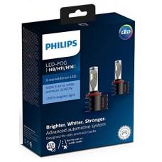 Kit 2 pz. lampade Philips LED retrofit X-treme Ultinon 12 V H8/H11/H16-12794UNIX2