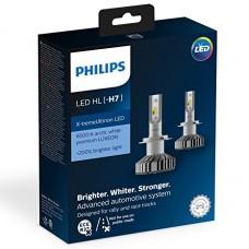 Kit 2 pz. lampade Philips LED retrofit X-treme Ultinon 12 V H7-12985BWX2