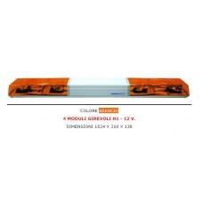 Barra di segnalazione 12 V 1524x210x138  mm.-15-60856