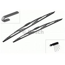 Kit Spazzole Tergicristallo Bosch con ugello 60cm.-3397118309