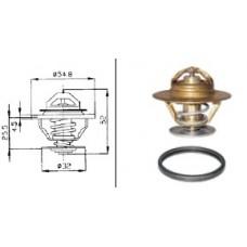 VALV TERMOST DAF 65CF (con gomm 24808.00) 83°C-435083...