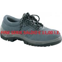Calzatura Varano bassa scamosciata S1P Taglia 46-510508/46