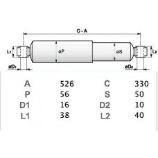 AMM. SABO POST  - FIAT DUCATO MAXI ( U.T.)-790787