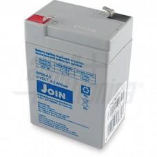 BATT.PIOMBO 6V 4,0 CON FAST  join-BP06-4,0...