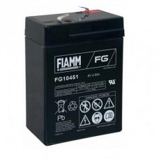 Batteria FIAAM 6 V 4,5 Ah SLA-FG10451...