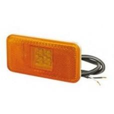 Fanale anteriore led arancio con cavo Scania 144 98>-FL028