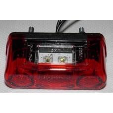 Fanale targa rosso led-FT014...
