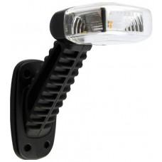Fanale Ingombro Destro LED Incolore/Rosso 45° 10-30V-LI103