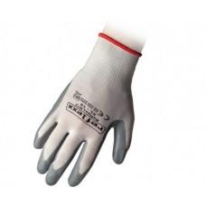 1 Paio guanti supportati in nitrile taglia M-N12M