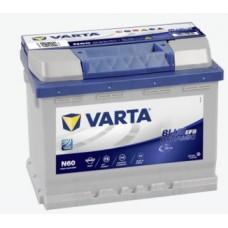 Batteria Varta Blue Dynamic EFB 12 V 60 Ah 560 A (EN) Prodotto soggetto a limitazioni per il tr...