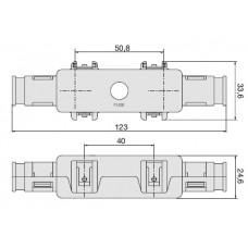 Portafusibile per Fusibile serie MG-PFMG