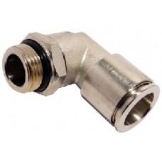 Gomito maschio girevole cilindrico BSPP-metrico 12-1/4-RT721412...