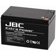 Batteria AGM  12 V - 12 Ah-SLC-0012012-80
